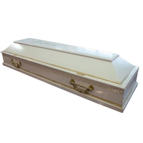 Гроб лакированный мод. 67М-Кр