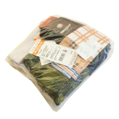 Комплект мужского белья (с платком) для погребения купить в Минске