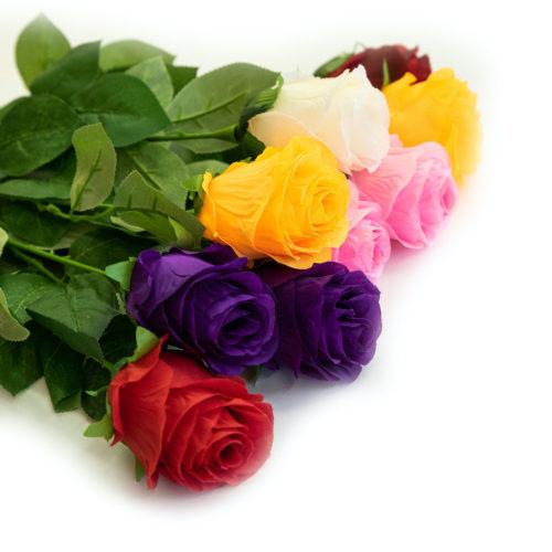 Ритуальная роза одиночная на похороны купить в Минске, цены
