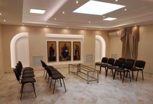 Ритуальный зал прощания Кижеватова, 58 больница скорой помощи