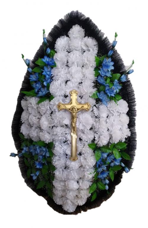 Венок ритуальный РВБ-19 т.4